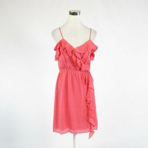 Milly pink seersucker sun dress 4
